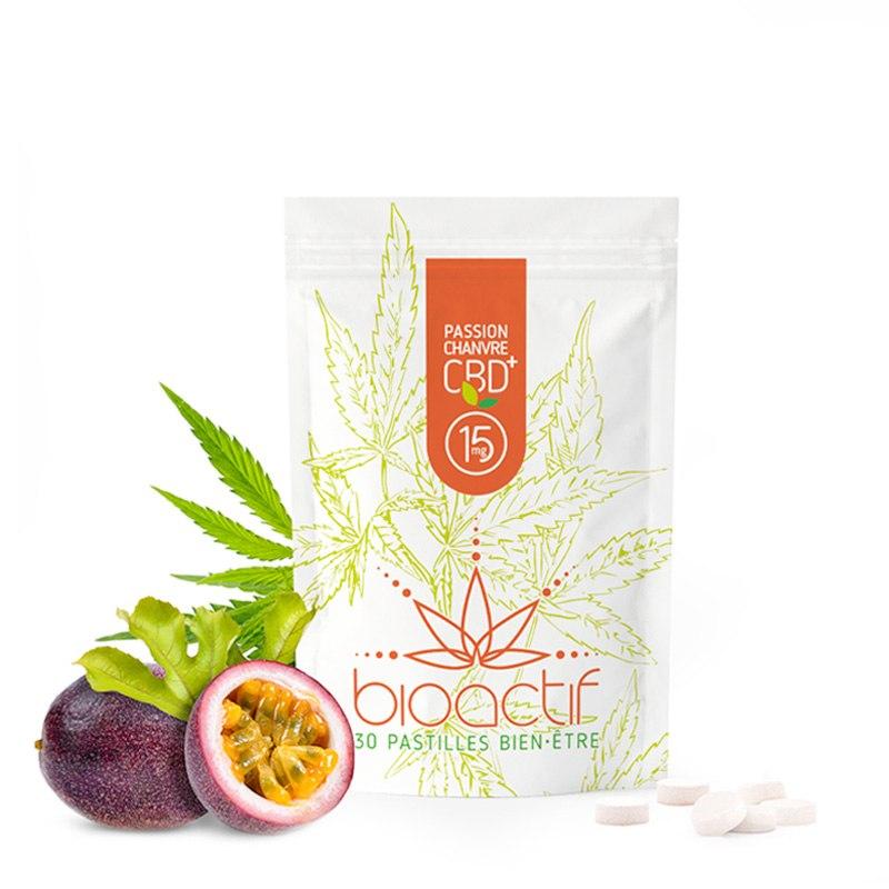 30 Bonbons 15 mg CBD/CBG