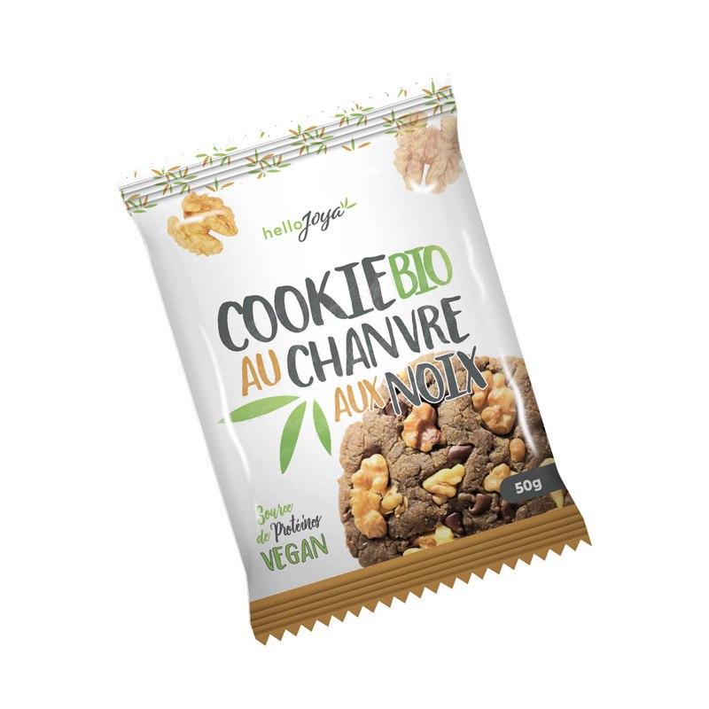 Cookie bio chanvre aux noix