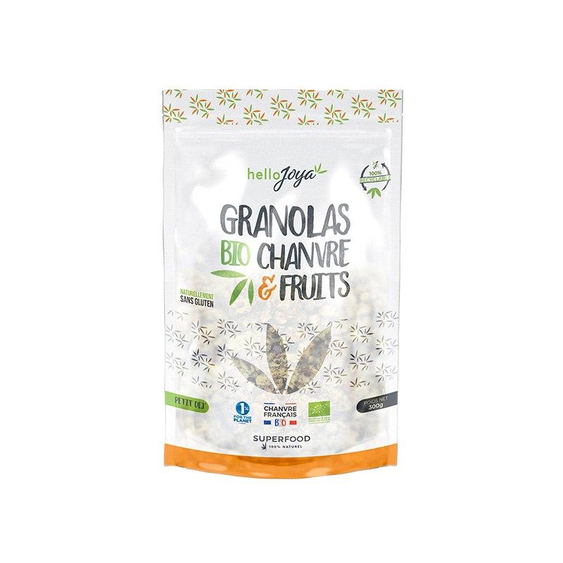 Granola bio Chanvre Fruits