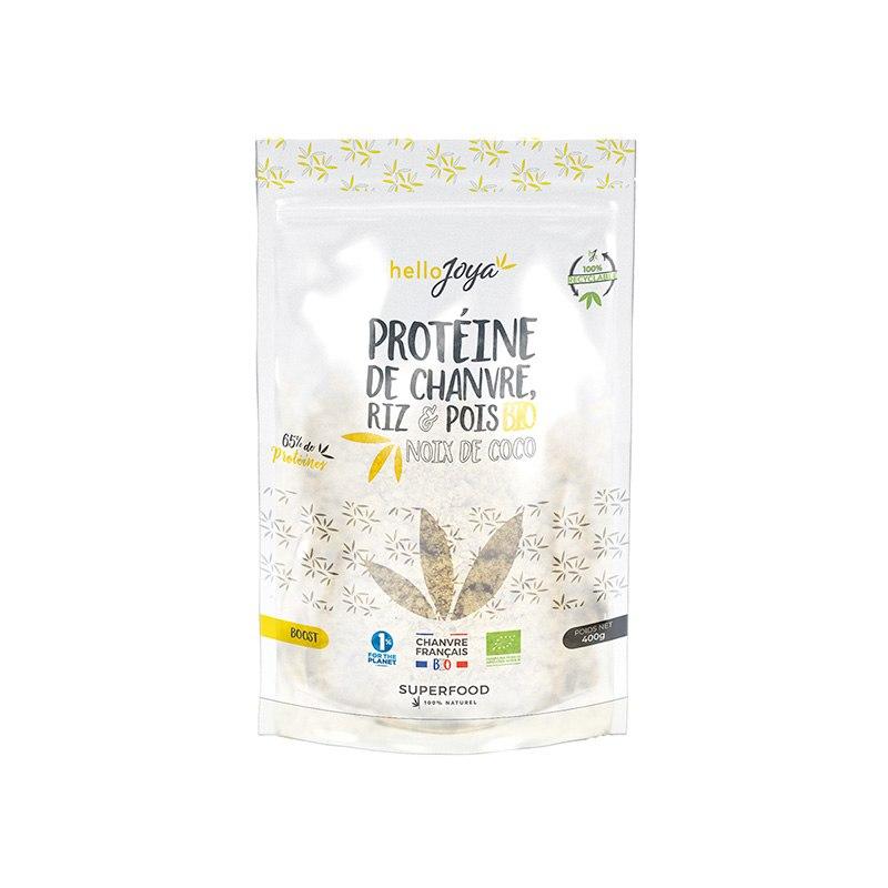 Protéine de chanvre, Riz et...